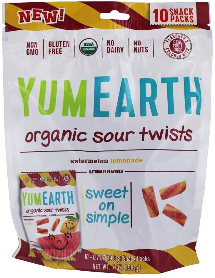 ORGANIC SOUR TWISTS YUME EARTH