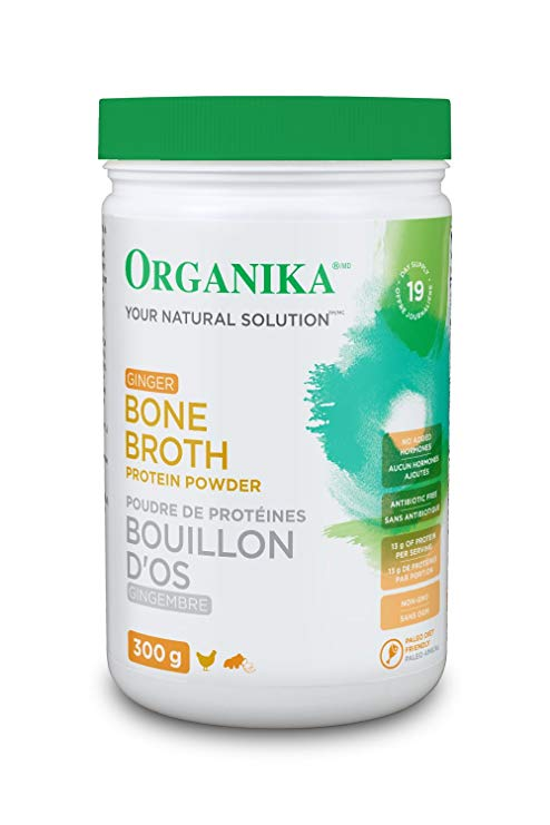 Bone Broth Protein Powder with Ginger
