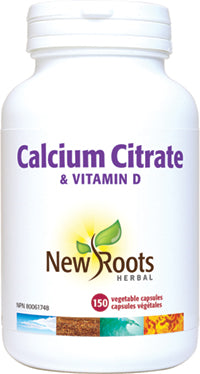 Calcium (Citrate) + Vitamine D, New roots