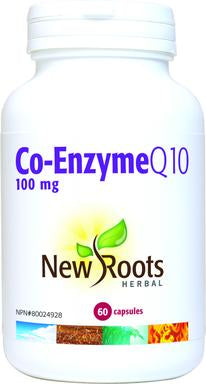 Coenzyme Q10 (CoQ10), 100mg, New roots (caps)
