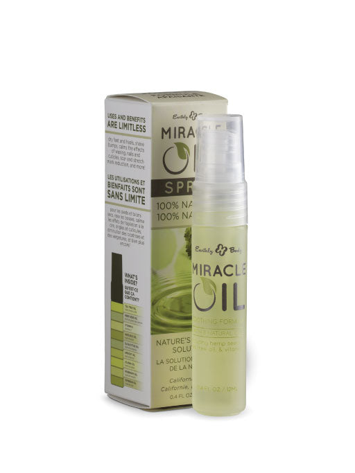 Earthly Body Miracle Oil On-the-Go Spray