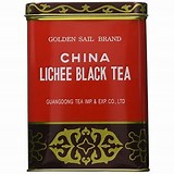 LICHEE BLACK TEA, GOLDEN SAIL BRAND
