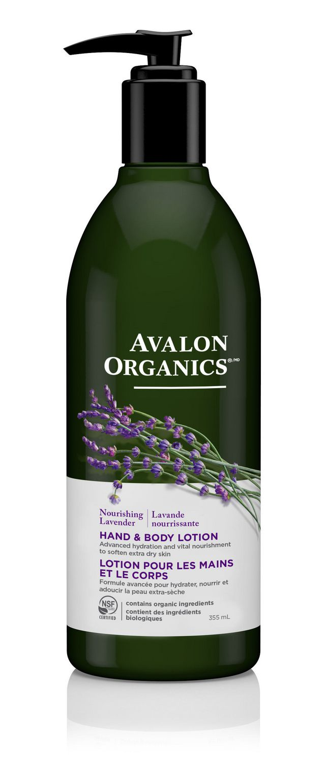 LAVENDER HAND & BODY LOTION - PACKAGING OF 355 ML