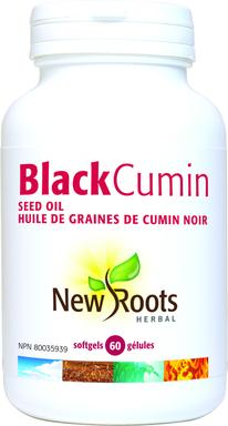 Black cumin seed oil, New Roots (60 caps)