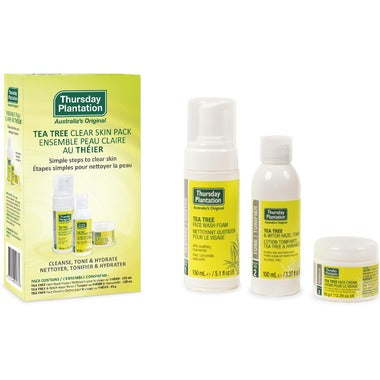 THURSDAY PLANTATION CLEAR SKIN PACK