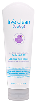 Live Clean Baby Soothing Oatmeal Relief Baby Lotion