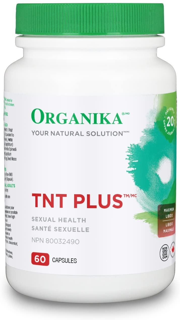 TnT plus, Maximum Libido, Organika (60 caps)
