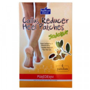 PUREDERM (ASUNG) Purederm callus Reducer Heel Patches-4 Patches - 75ml