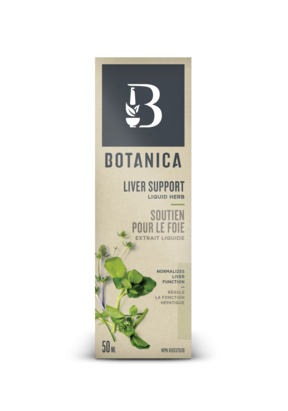 Liver support, Botanica (liquid) 50ml