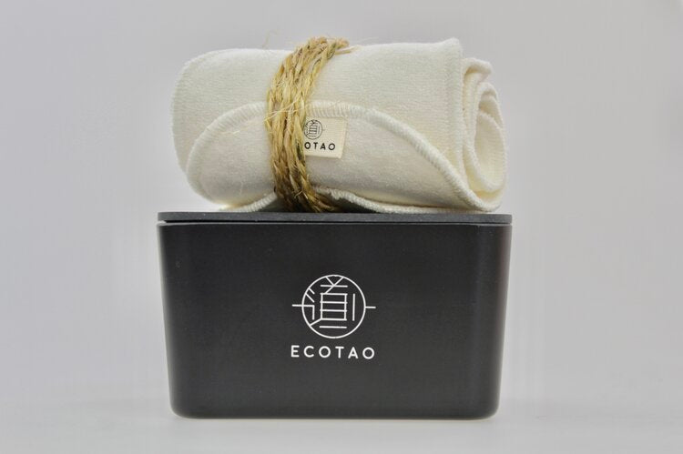 ECO TAO (ECO TAO) beauty box 7 reusable cleansing wipes and makeup remover natural color box