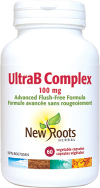 Ultra B Complexe. 100mg, New roots (60 caps)