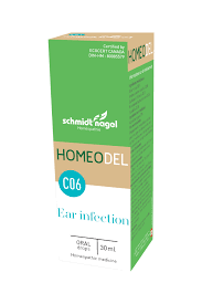 HOMEODEL C06 - Ear Infection, SchmidtNagel (Drops, 30ml)
