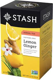 Lemon Ginger , Herbal tea, Stash
