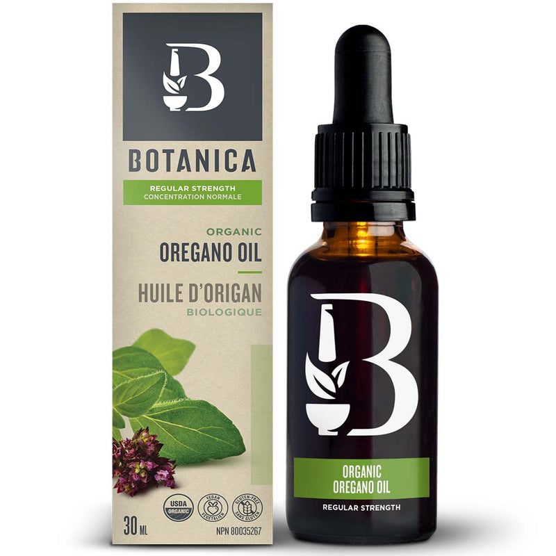 Oregano Oil Regular Strength, Botanica (30ml)