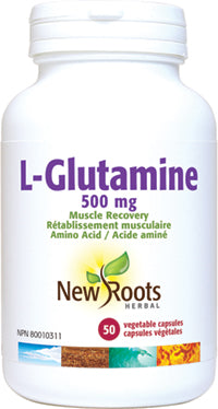 L-glutamine, New roots (50 caps)