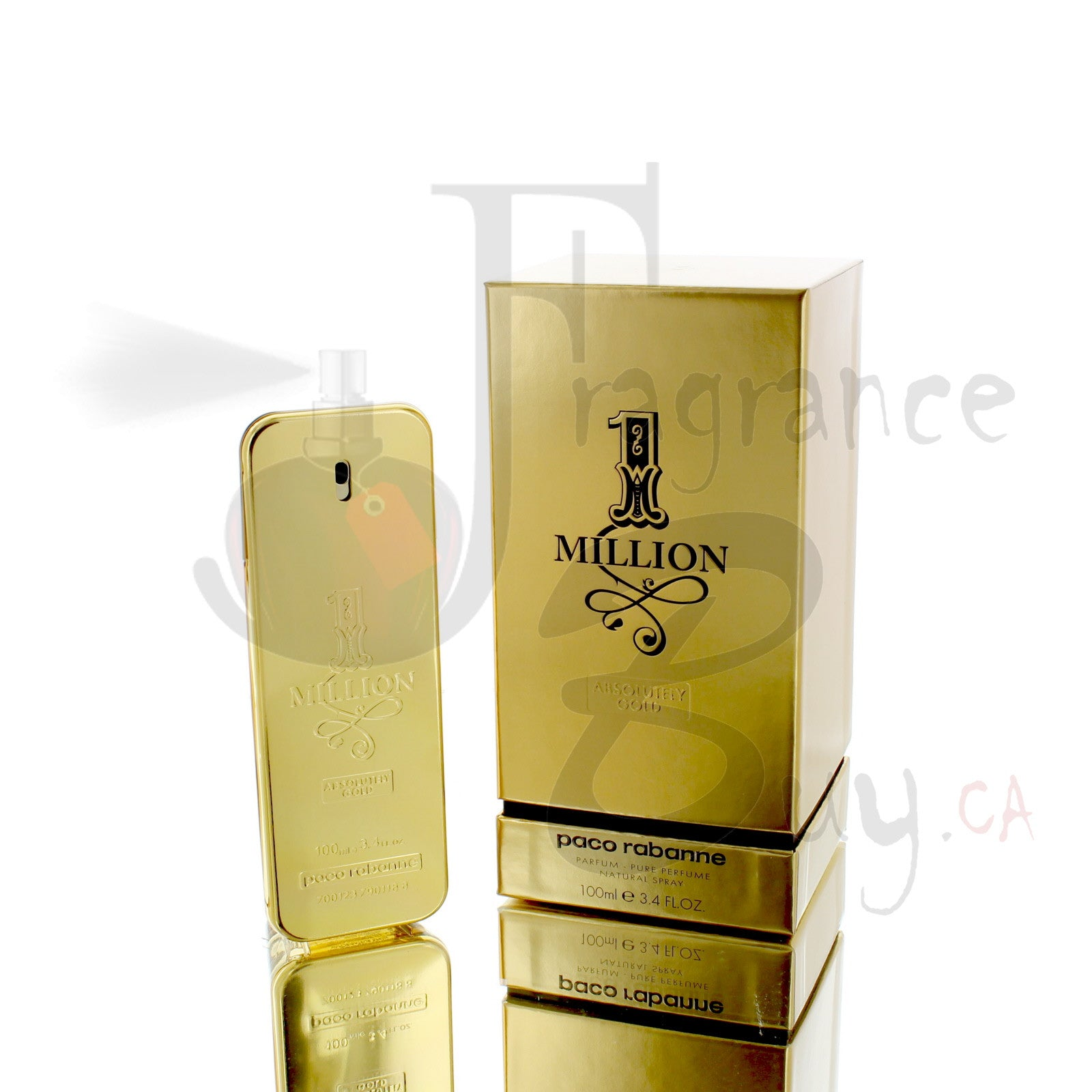 1 Million Absolutely Gold Pure Parfum For Man