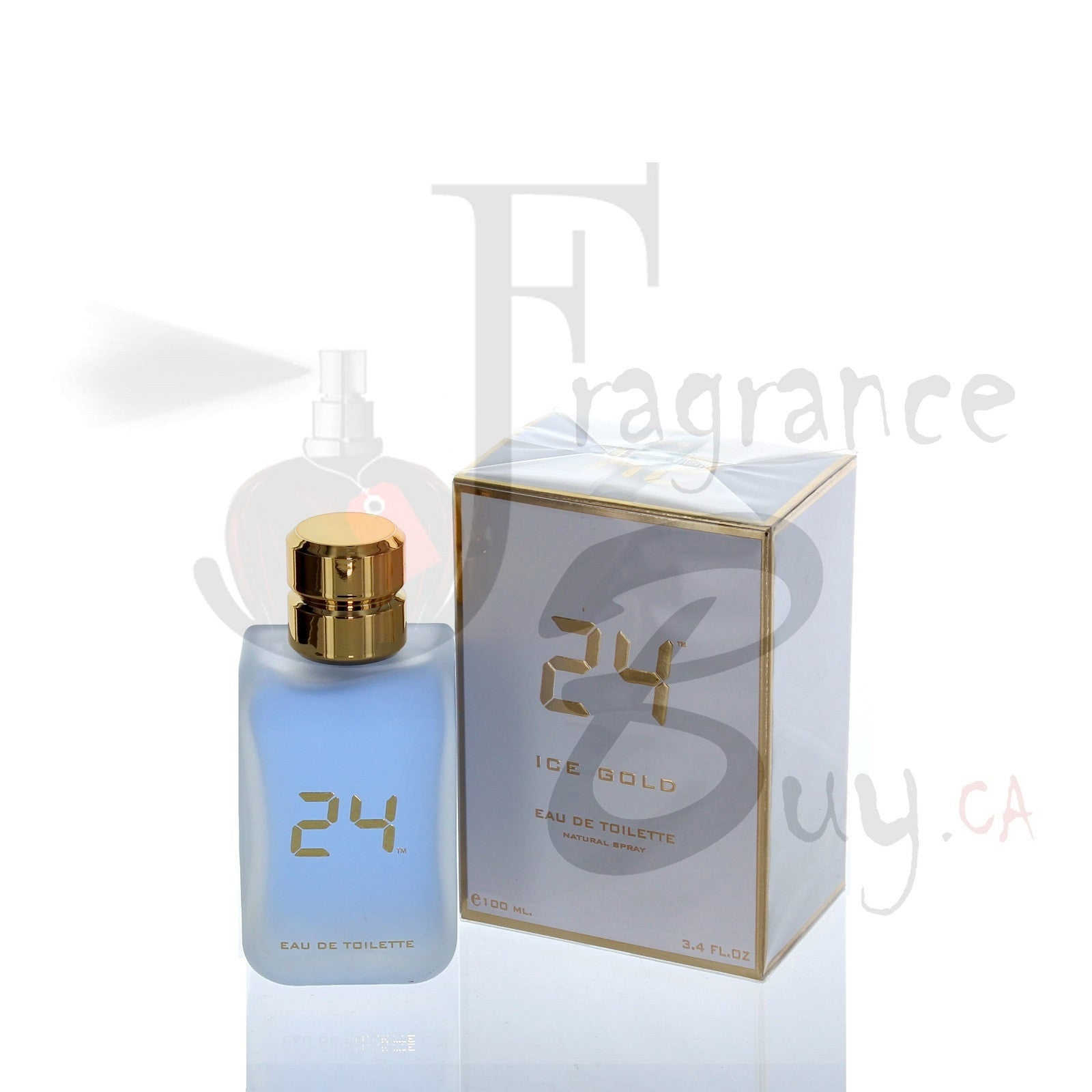 24 Ice Gold by ScentStory For Man/Woman