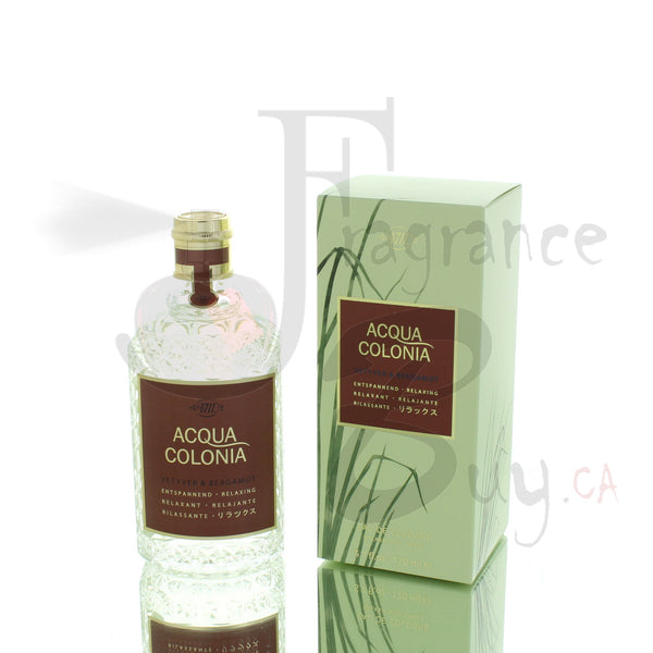 4711 Acqua Colonia Vetyver & Bergamot  For Man/Woman