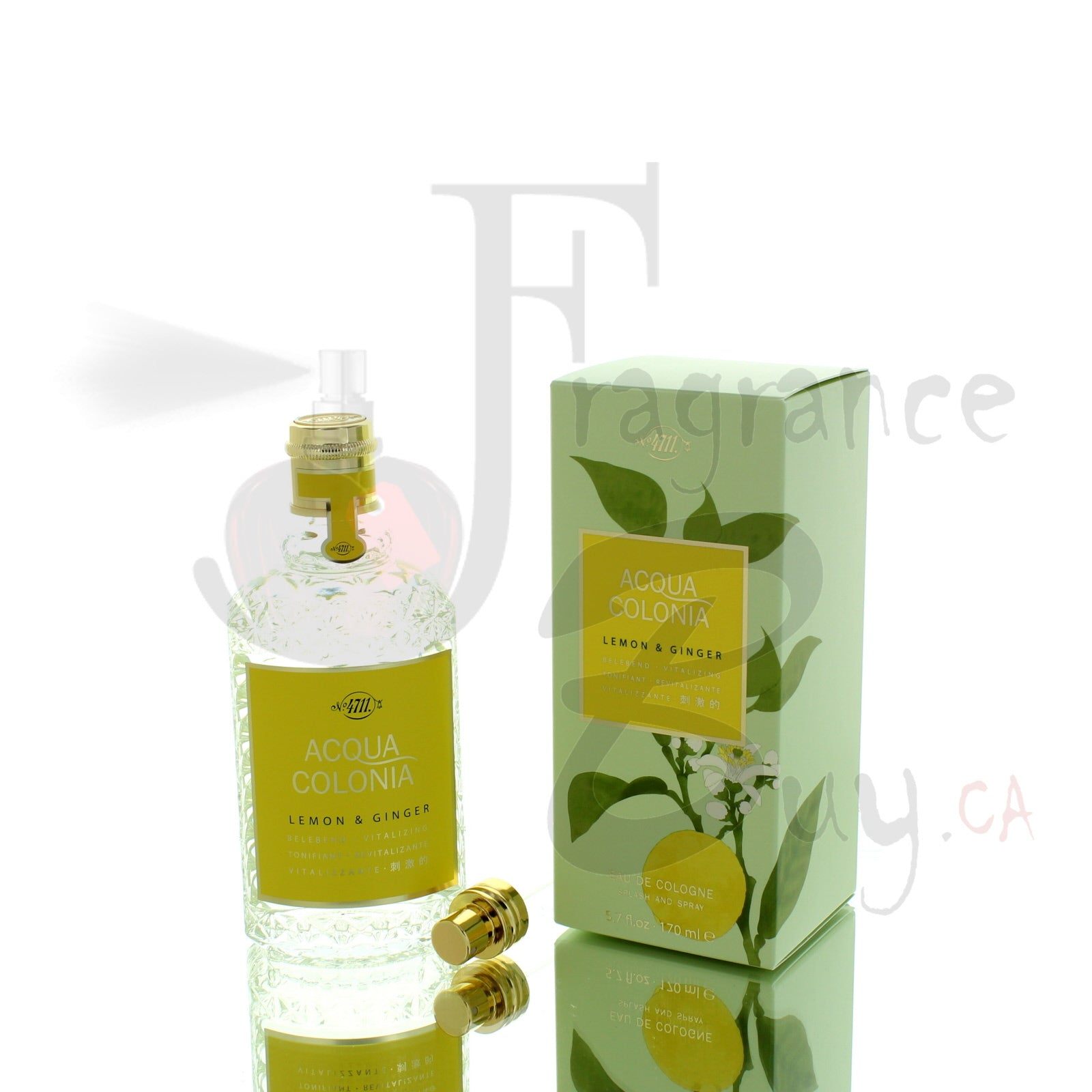 4711 Acqua Colonia Lemon & Ginger For Man/Woman