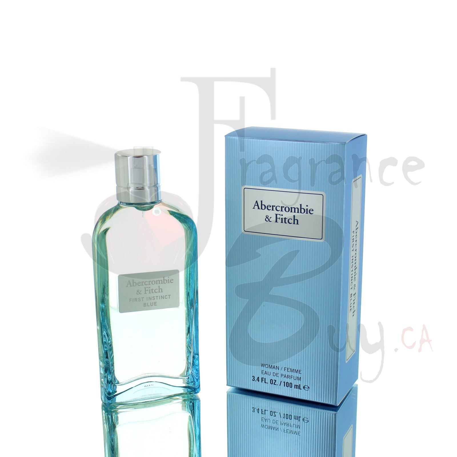 Abercrombie & Fitch First Instinct BLUE Edition For Woman