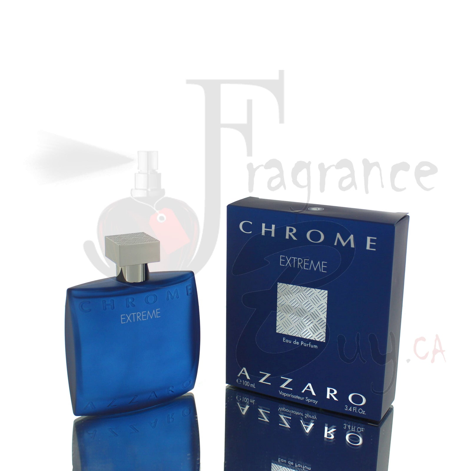 Azzaro Chrome Extreme For Man