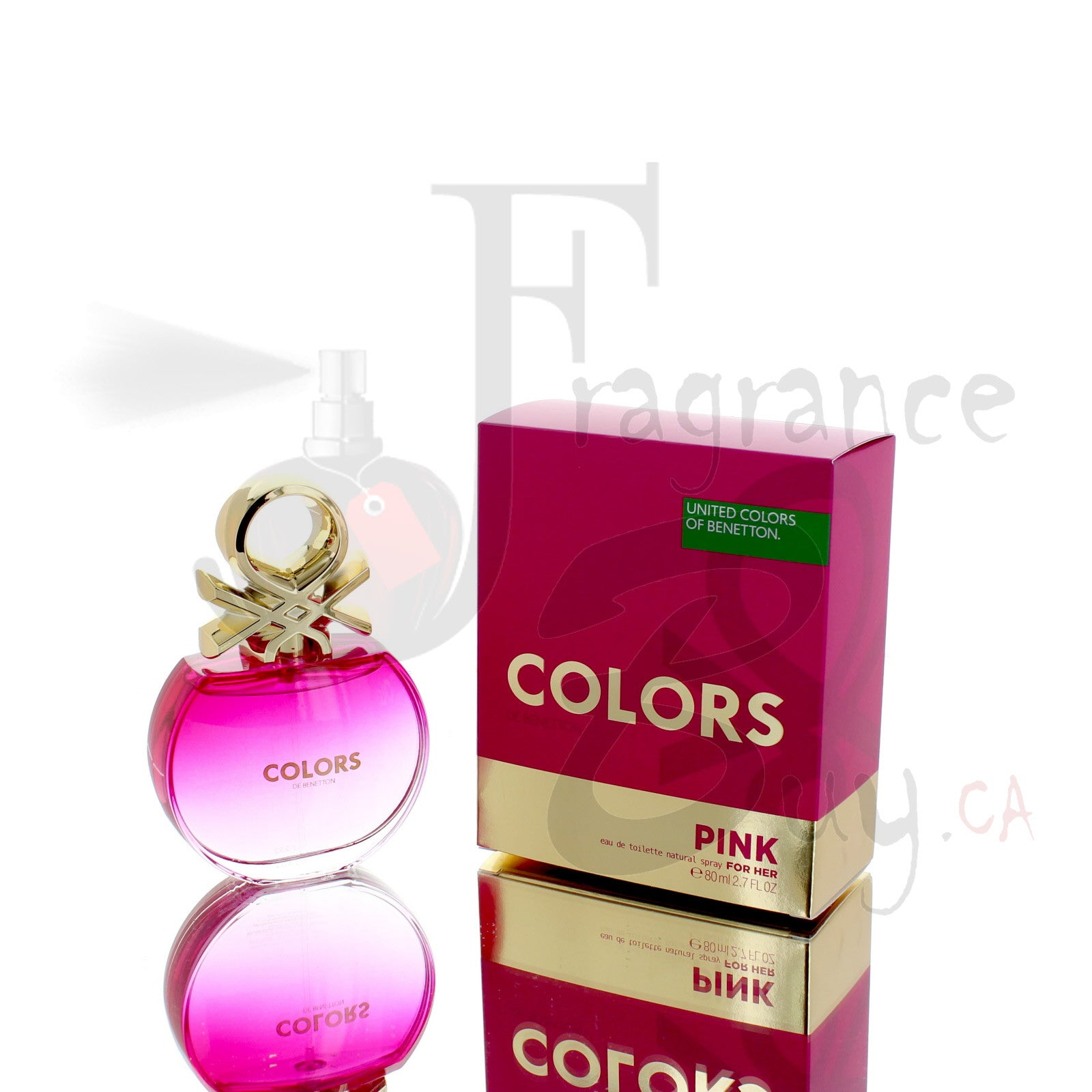 Benetton Colors Pink For Woman