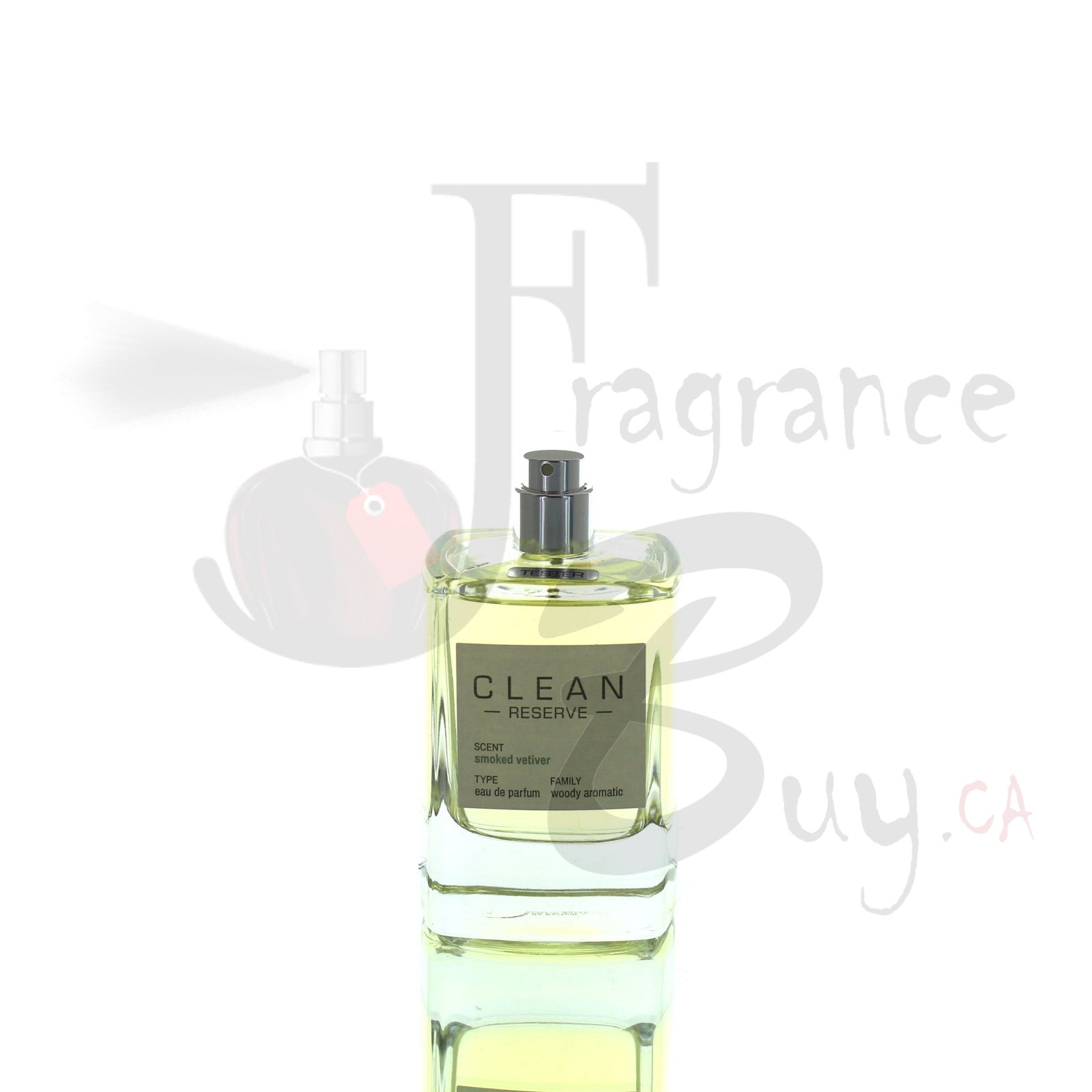 Clean Reserve Smoked Vetiver For Man/Woman