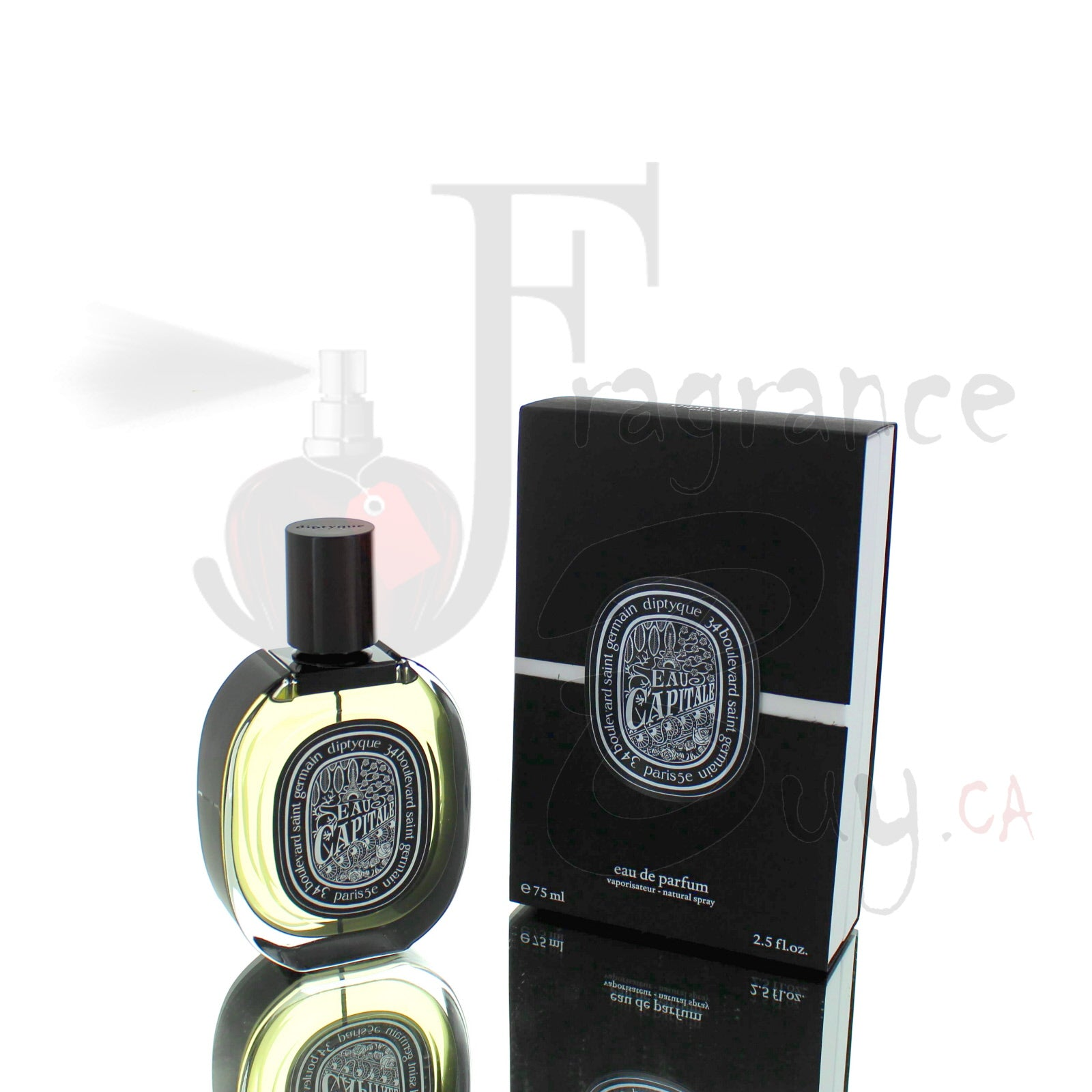 Diptyque Eau Capitale For Man/Woman
