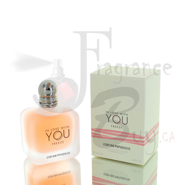 Emporio Armani In Love With You Freeze Edition (2020) For Woman