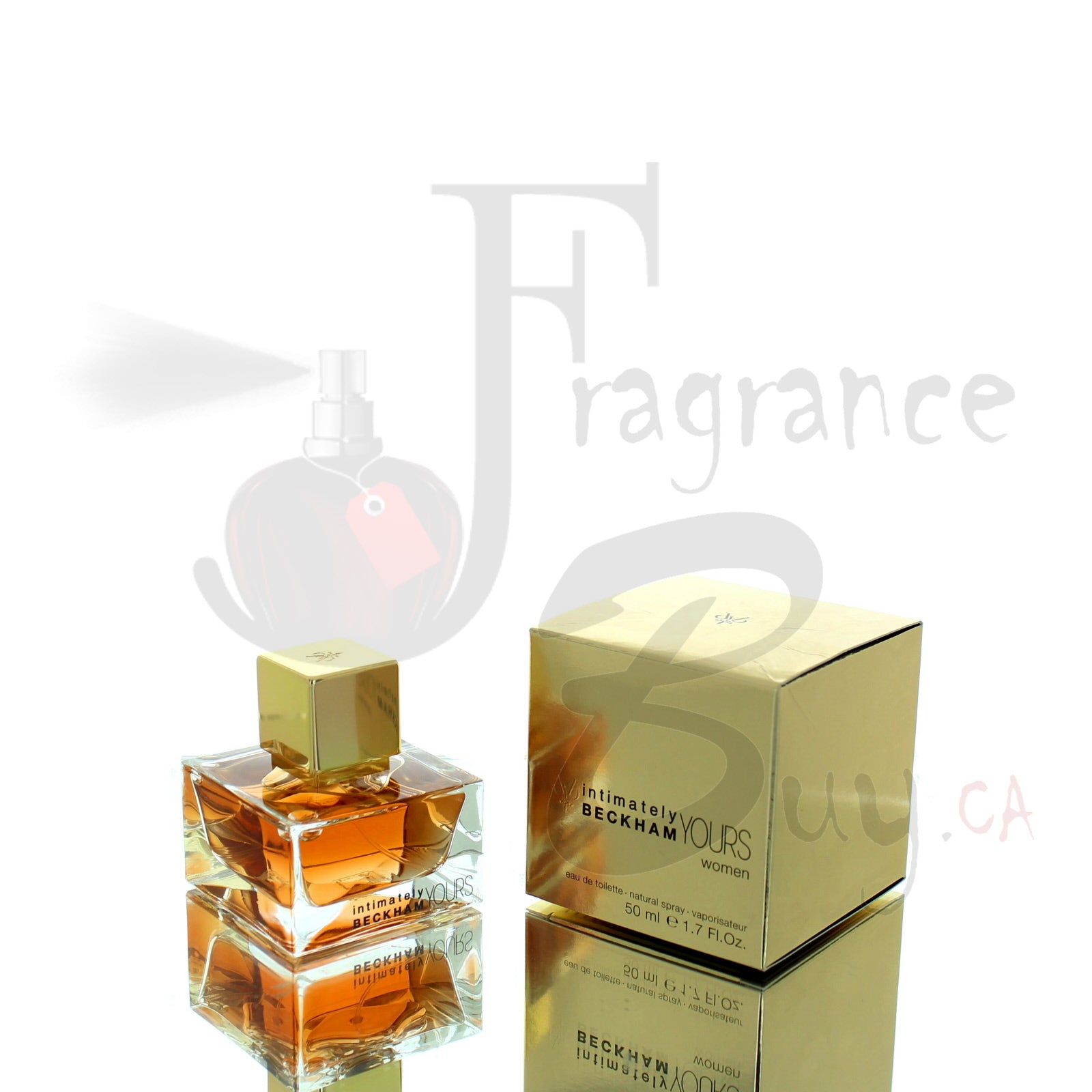 David Beckham Intimately Yours Gold Edition For Woman
