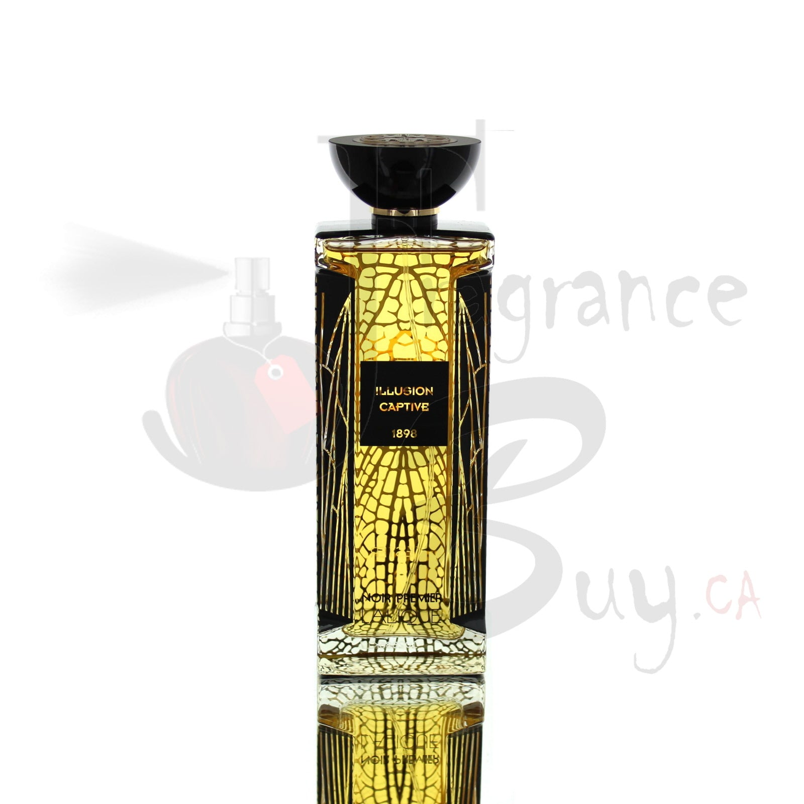 Lalique Noir Premier Illusion Captive Private Collection For Man/Woman