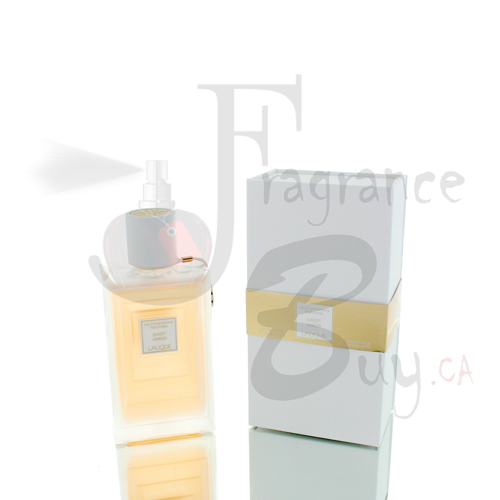 Lalique Les Compositions Parfumees Sweet Amber For Man/Woman