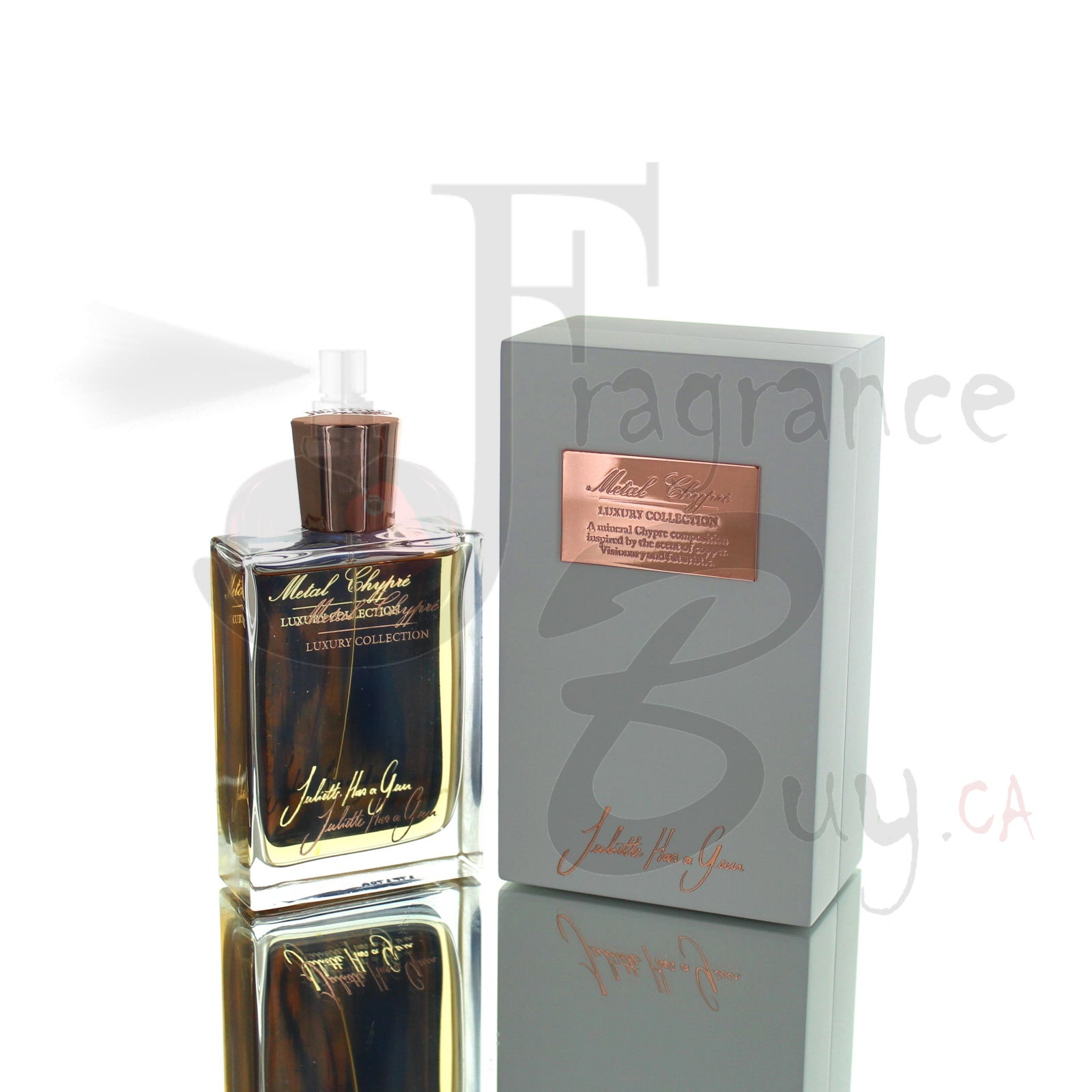 Juliette Has A Gun Metal Chypre For Man/Woman