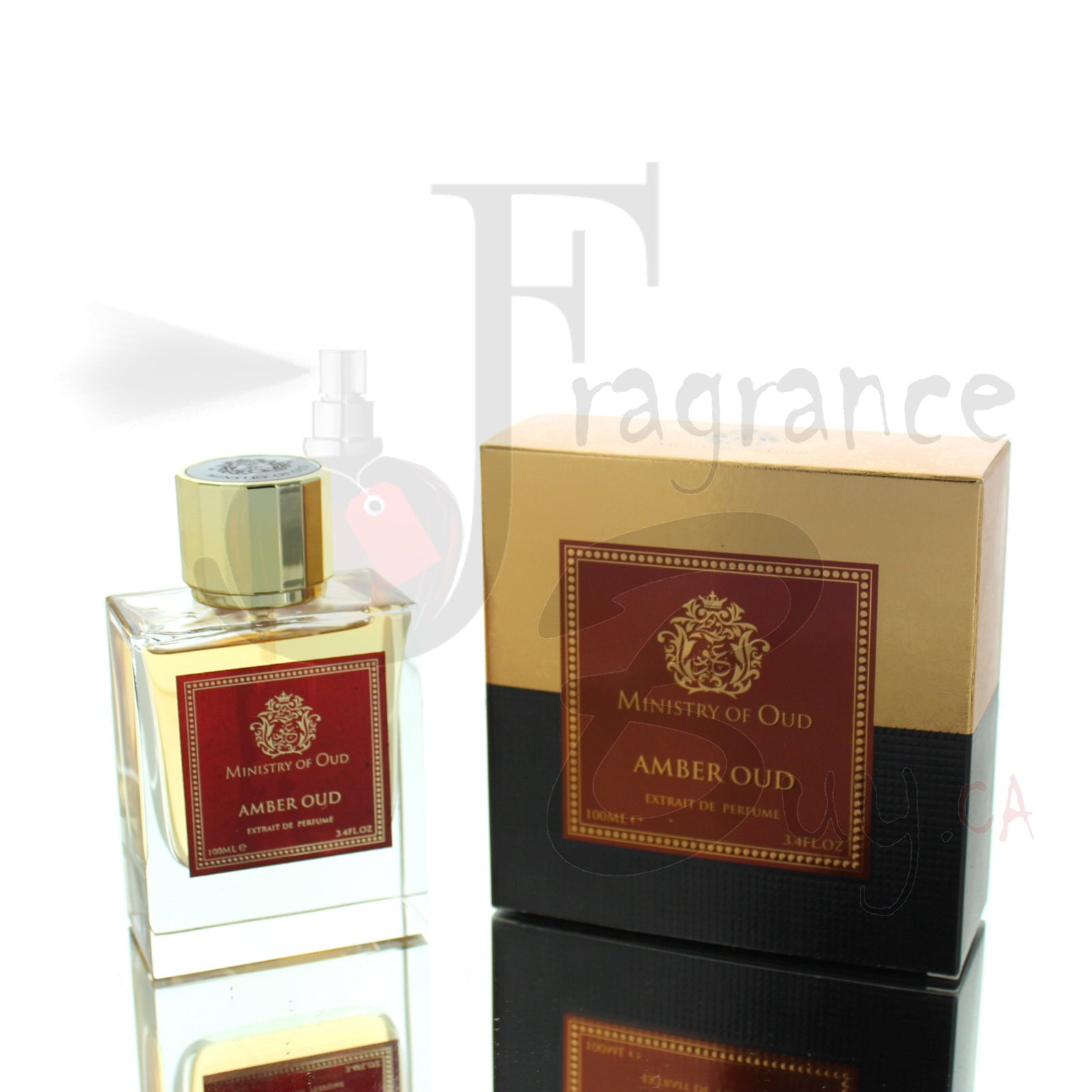 Ministry Of Oud Amber Oud For Man/Woman