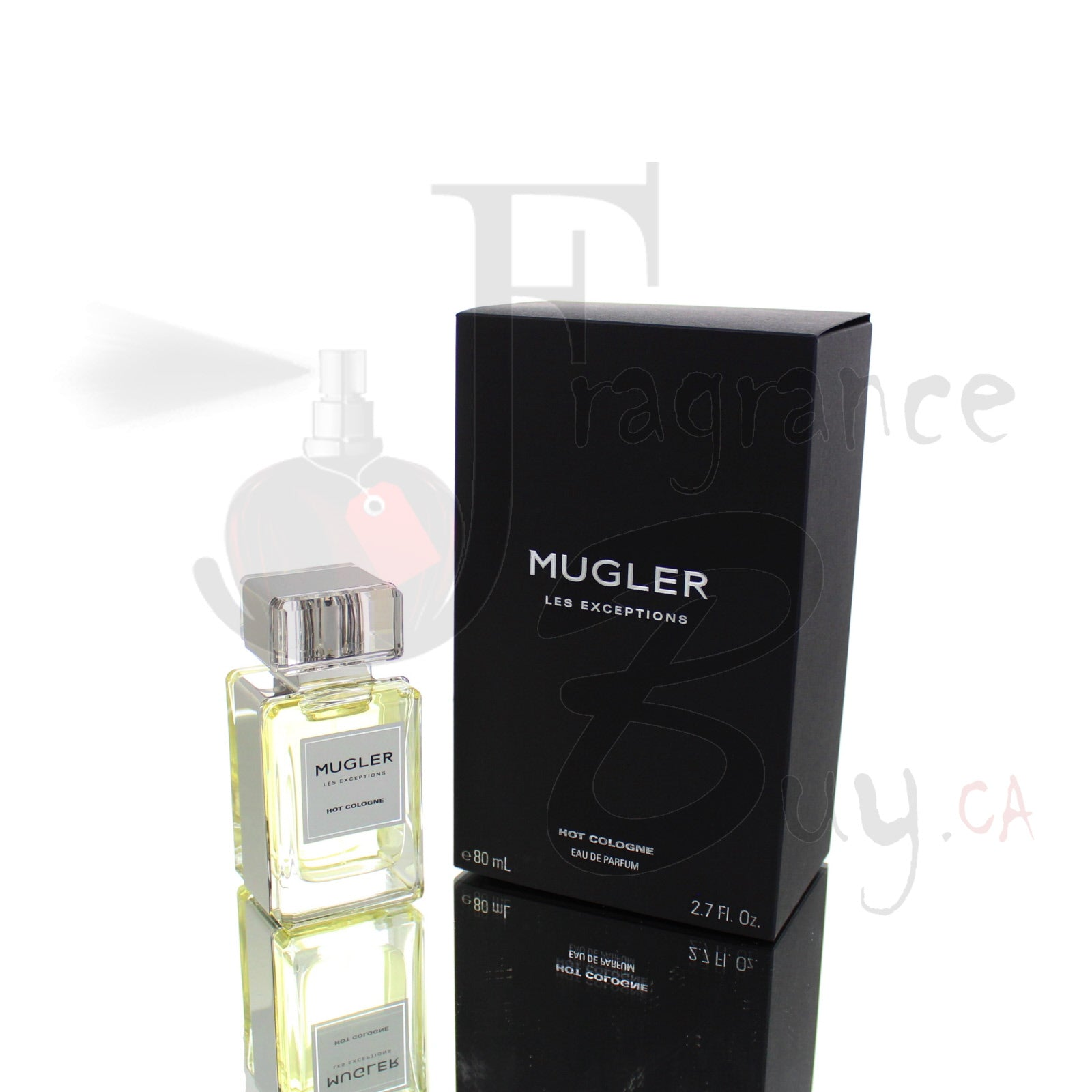 Mugler Hot Cologne Les Exceptions For Man/Woman
