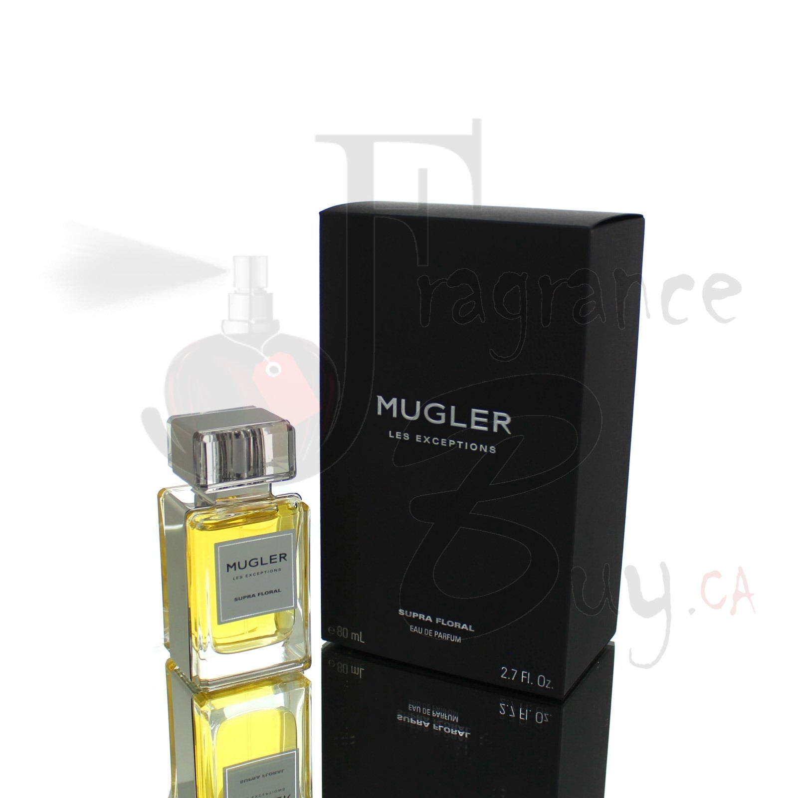 Mugler Supra Floral Les Exceptions For Man/Woman