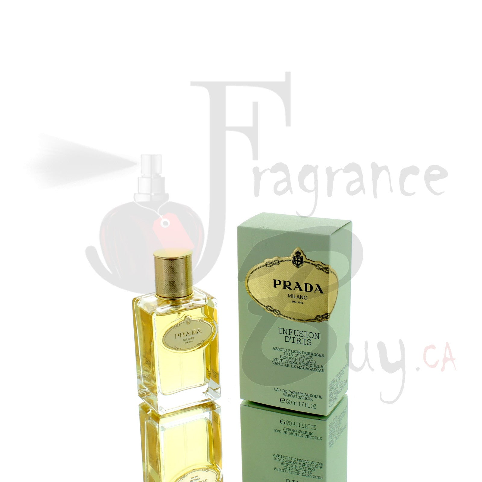 Prada Infusion D'Iris ABSOLUE Fragrance