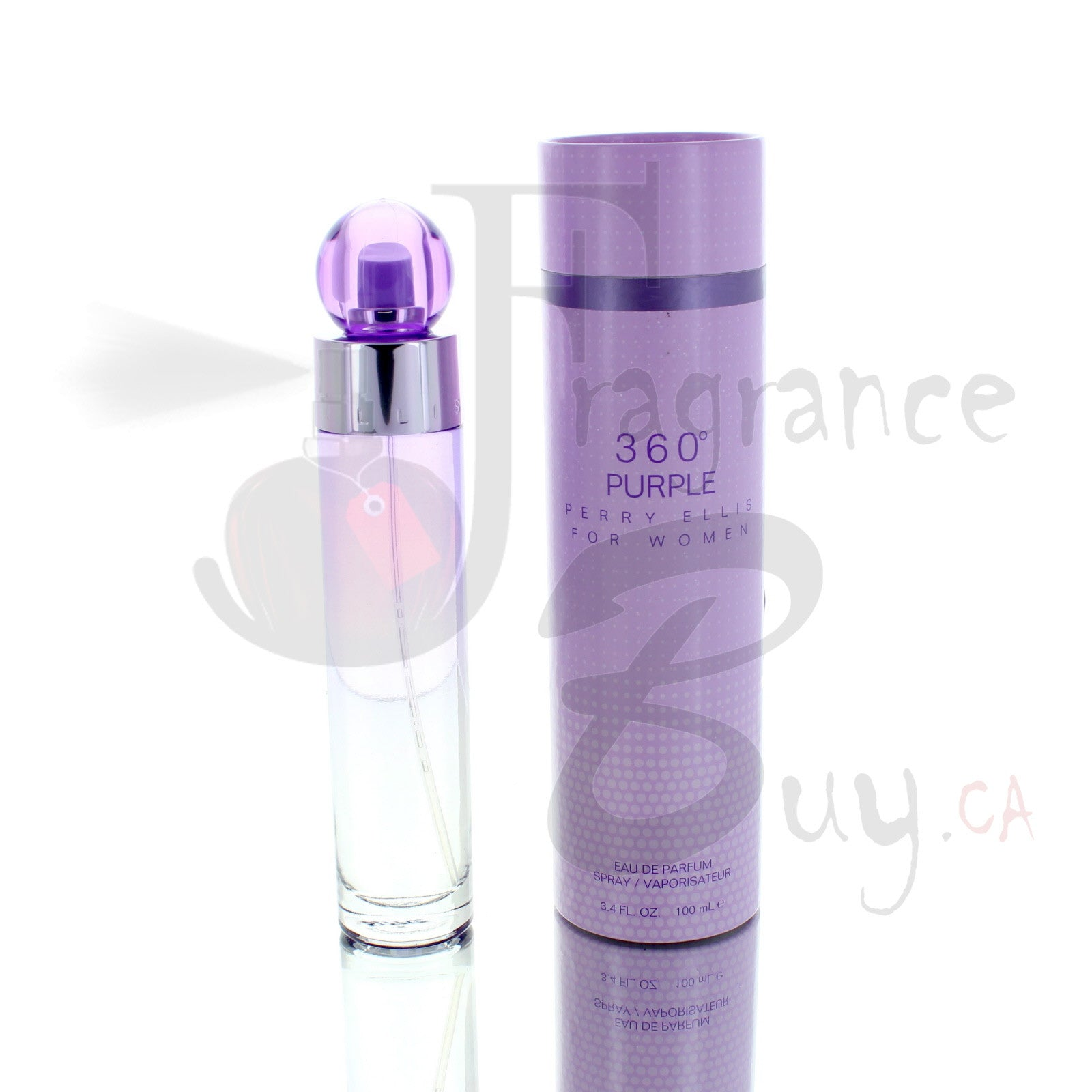360 Purple by Perry Ellis For Woman