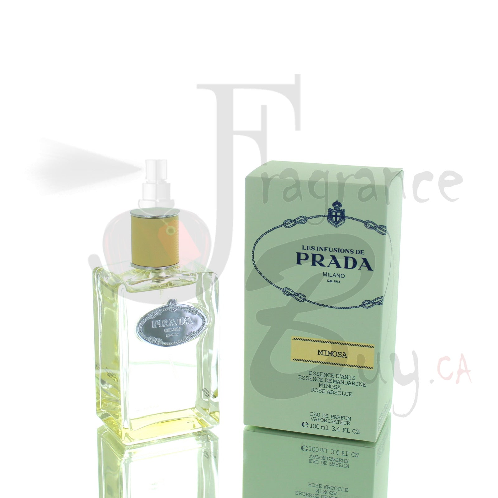 Prada Infusion Mimosa For Woman