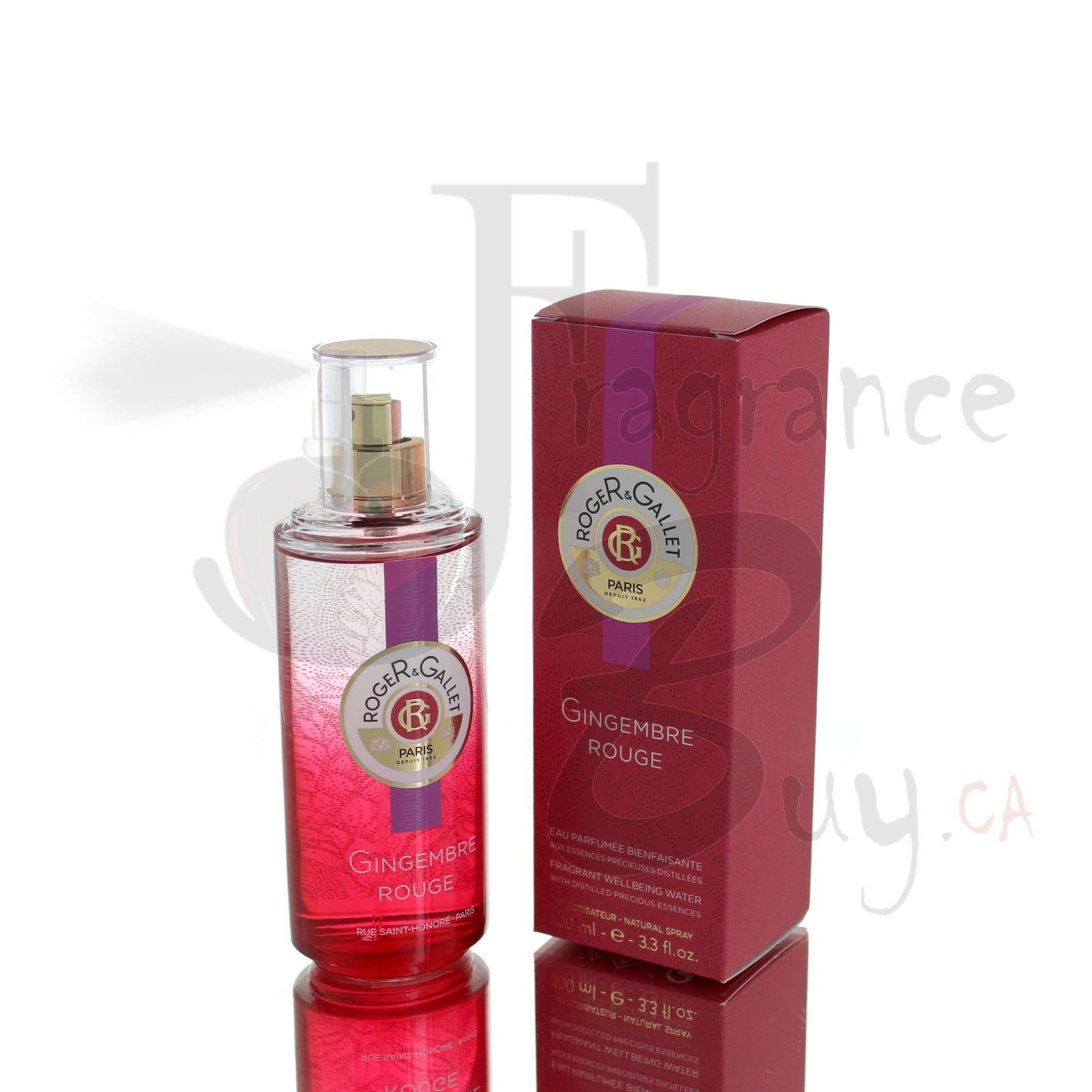 Roger & Gallet Gingembre Rouge For Woman