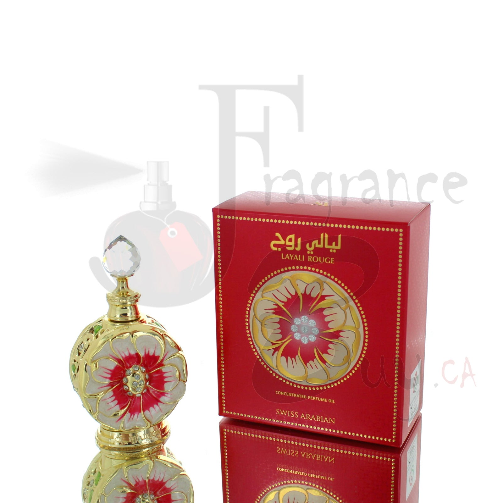 Swiss Arabian Layali Rouge Concentrated Perfume Oil For Woman
