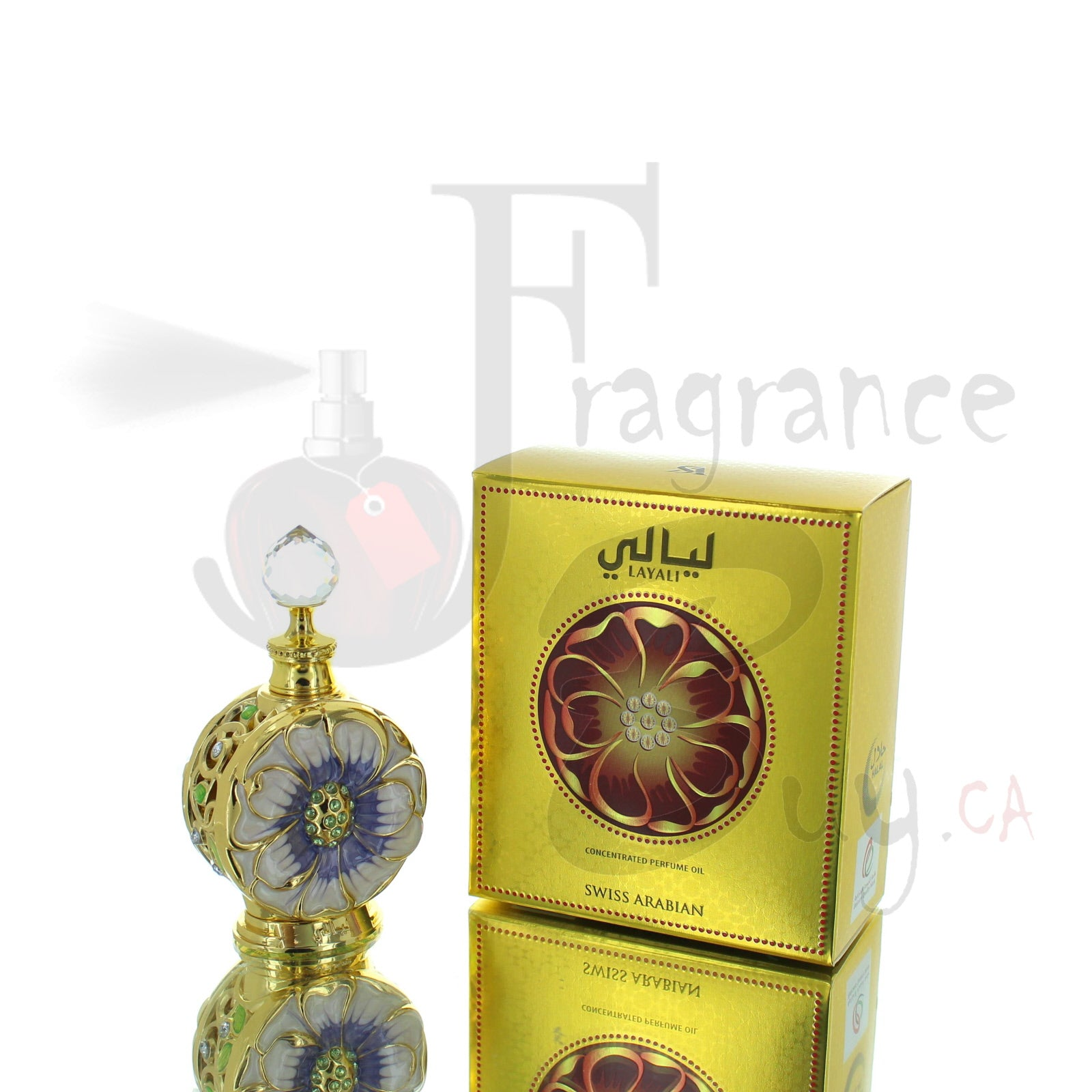 Swiss Arabian Layali Concentrated Perfume Oil For Woman