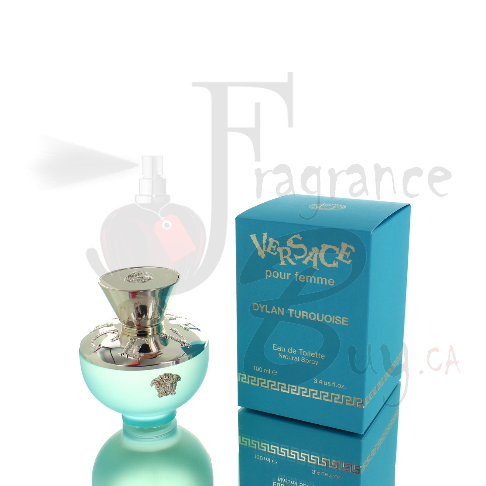 Versace Pour Femme Dylan Blue Turquoise Edition For Woman