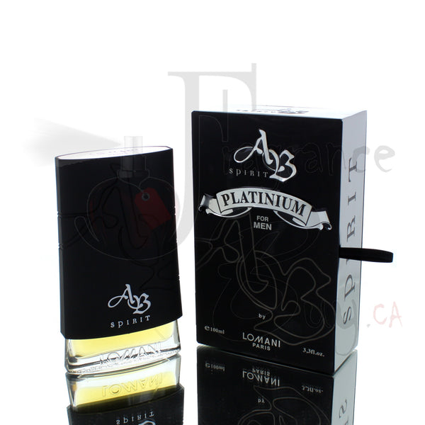 Ab Spirit Platinum by Lomani For Man