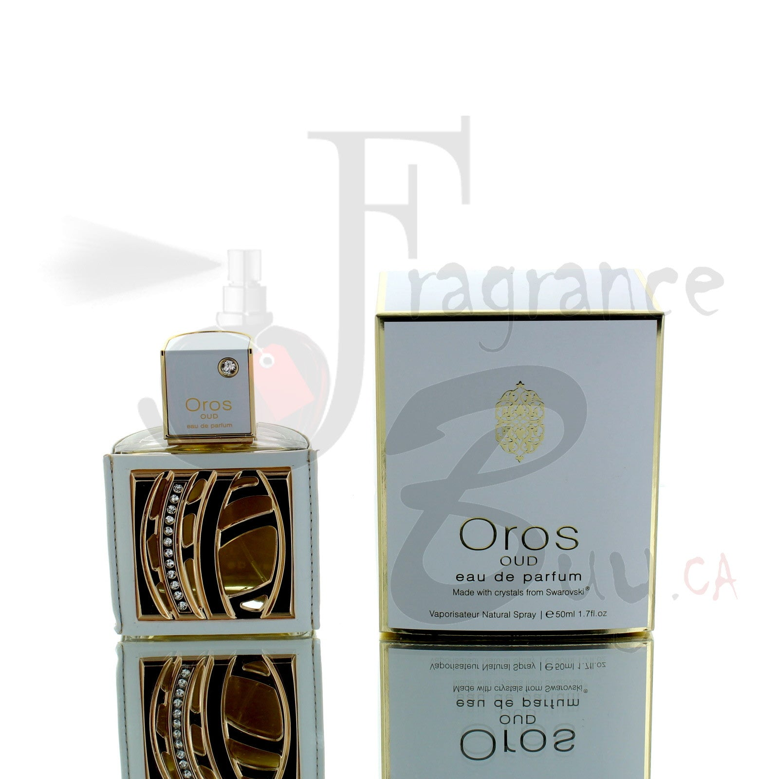 Armaf Oros Oud (Made with Swarovski Elements) For Man