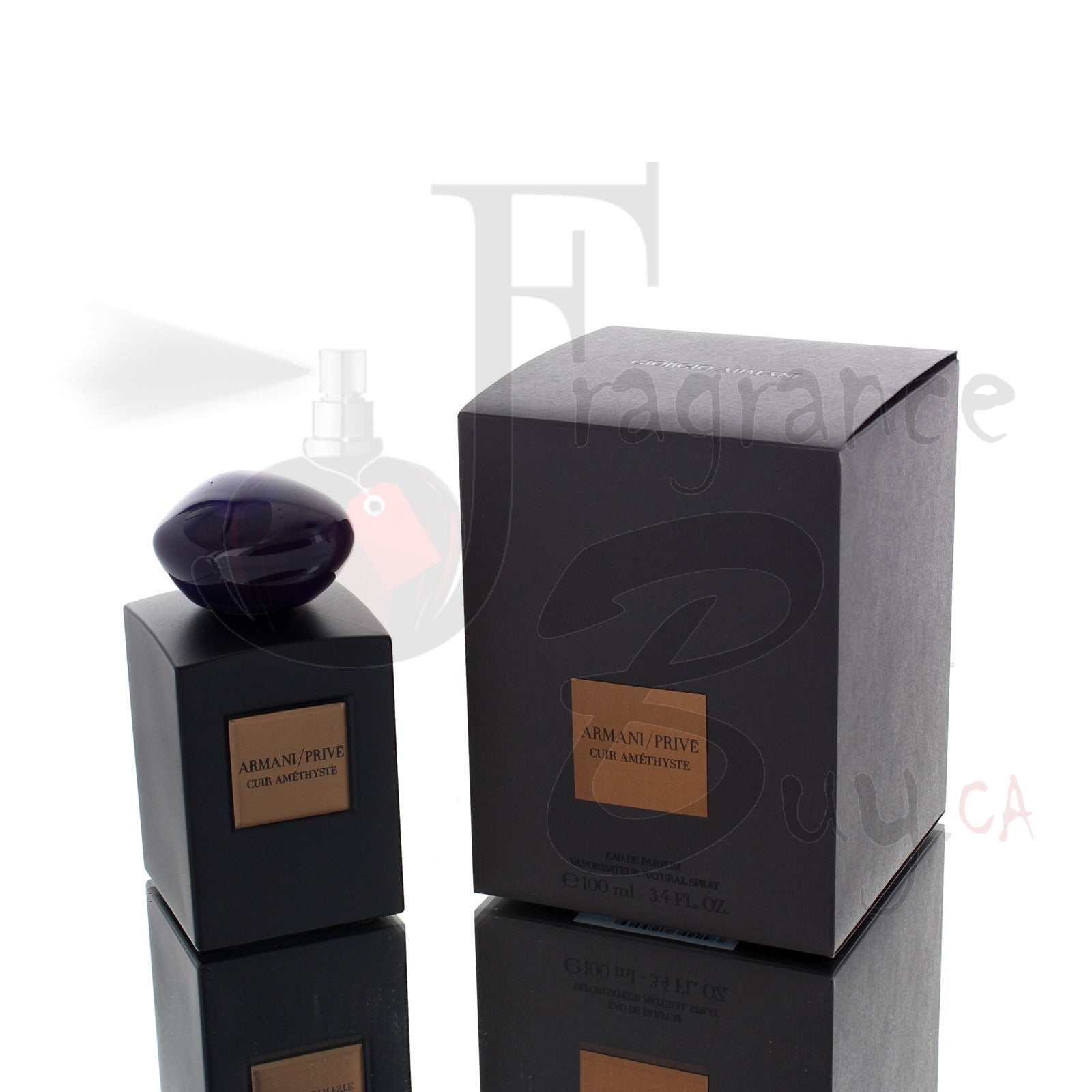 Giorgio Armani Prive Cuir Amethyste For Man
