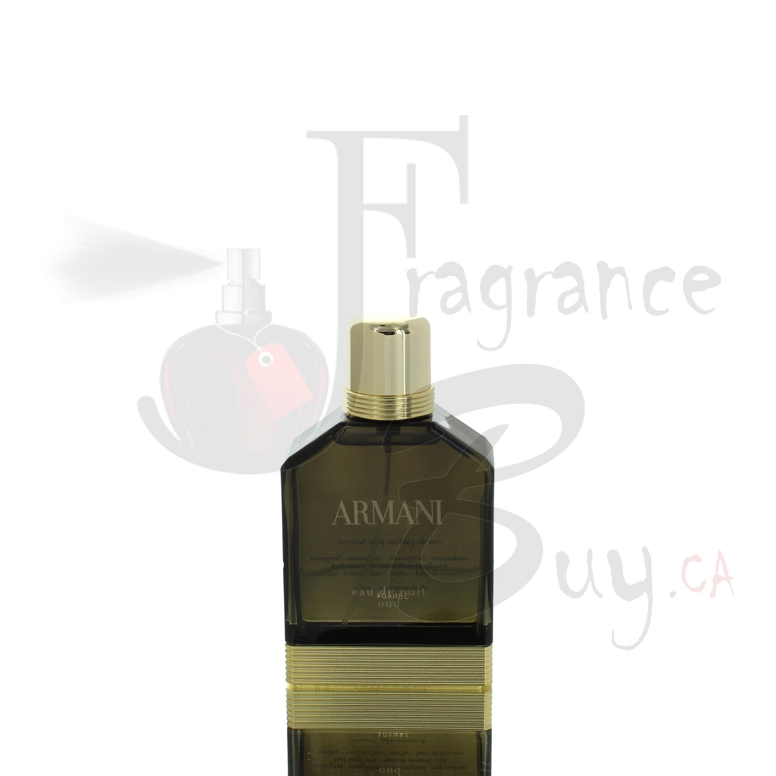 Armani Eau de Nuit Oud Edition For Man
