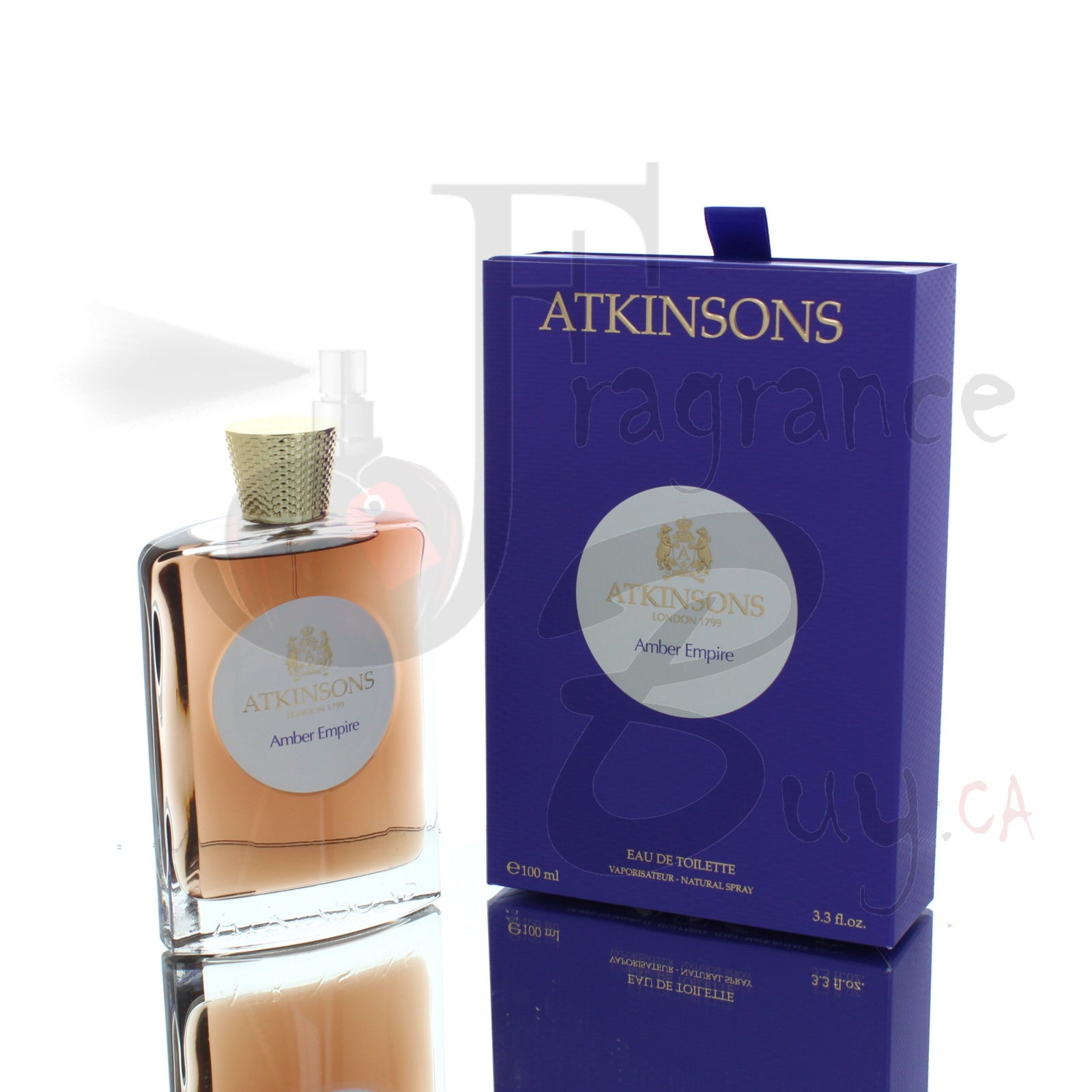 Atkinsons Amber Empire For Man/Woman