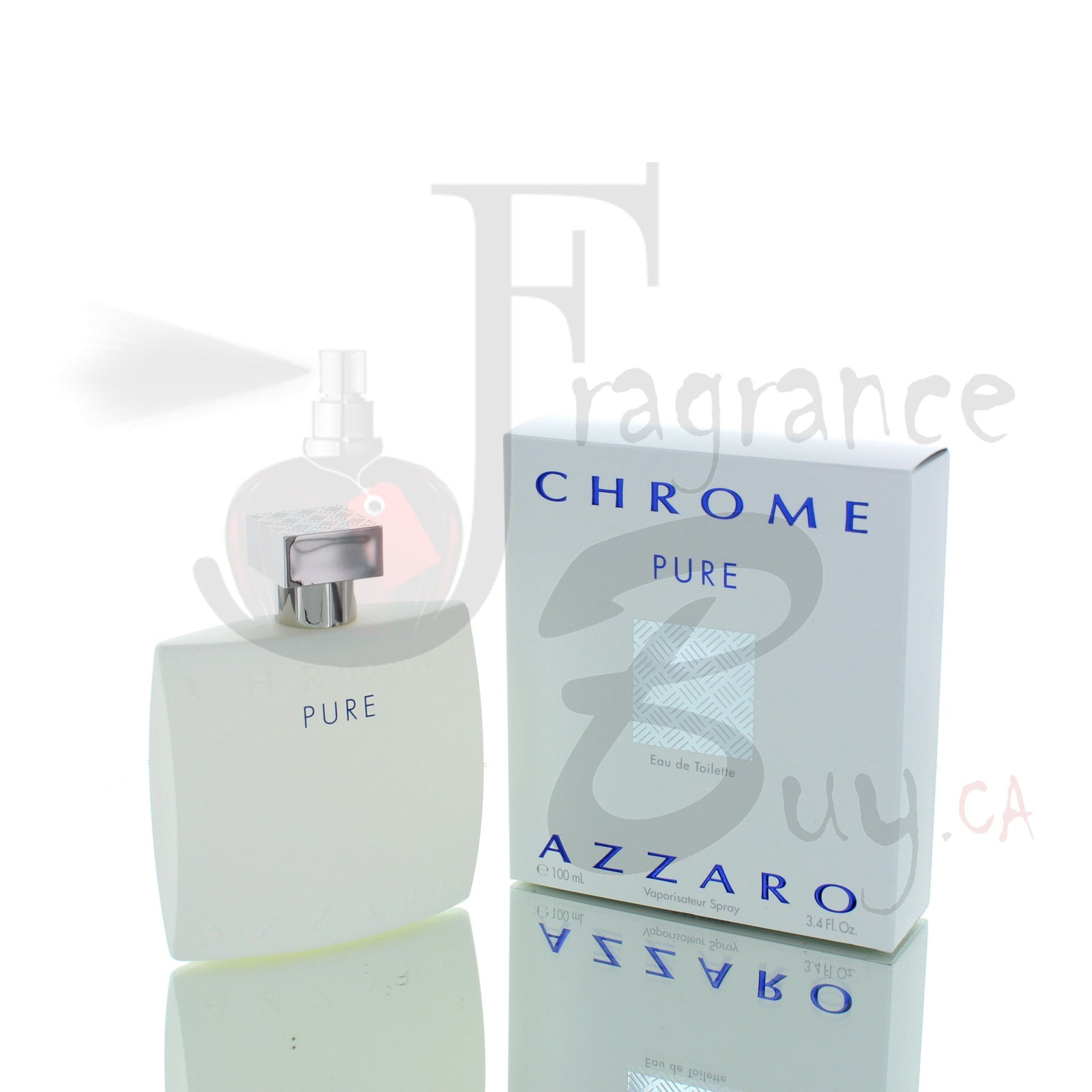 Azzaro Chrome Pure (2017) For Man