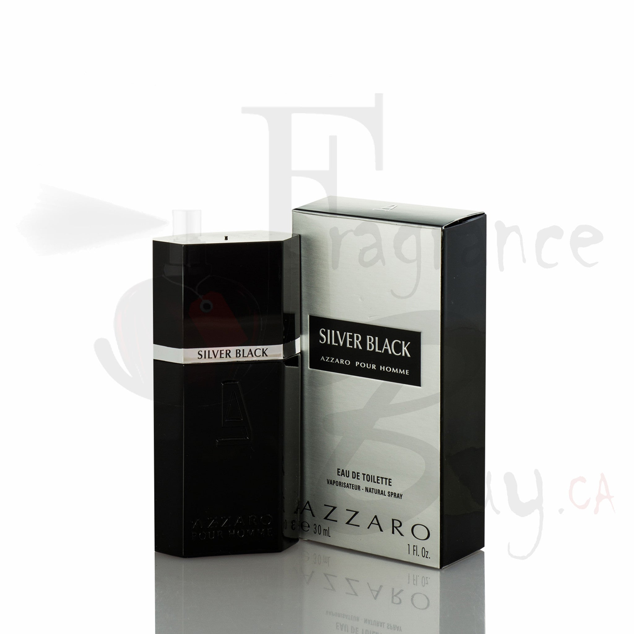 Azzaro Silver Black For Man
